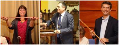 Olga Arnau (ERC) i Kenneth Martínez (PSC) s'estrenen com a alcaldes de Vilanova i El Vendrell, i Pere Regull (Junts) revalida l'alcaldia de Vilafranca