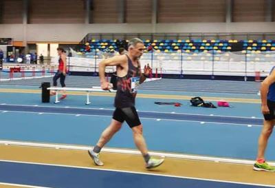 Pedro José Aranda campió d'Espanya Màster en 3000 metres marxa. Eix