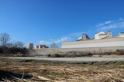 Pla general de la parcel·la que antigament ocupava la fàbrica de ciment Cemex a Vilanova i la Geltrú. ACN