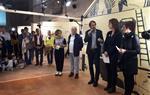 """S'inaugura a la capella de Sant Joan l'exposició """"TRANSITAR, orientar-se en un món canviant"""""""