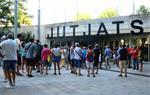 Tres investigats per tallar les vies del tren el 21-F a Sitges es neguen a declarar davant el jutge
