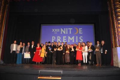 Una emotiva Nit de Premis Sitges presenta un 2020 amb novetats culturals importants . Ajuntament de Sitges