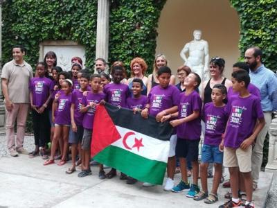 Vilanova acull 22 infants sahrauís que passaran l'estiu