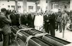 Visita de Franco a la fàbrica Pirelli al 1949. Arxiu Comarcal del Garraf