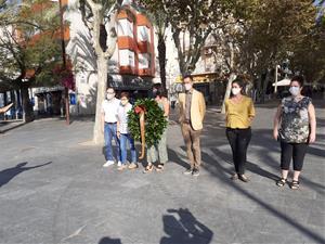 Acte institucional de la Diada Nacional de Catalunya a Vilanova