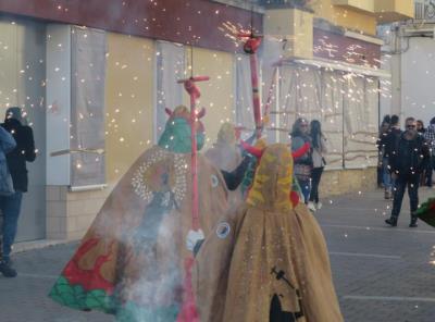 Cercavila de Vigília de la festa major de Sant Pau a Ribes. Ajt Sant Pere de Ribes
