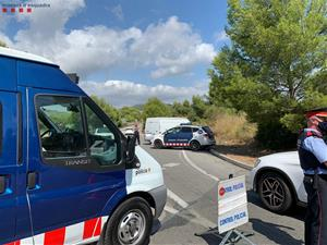 Dispositiu conjunt de mossos i policies locals per prevenir robatoris al Baix Llobregat i Garraf