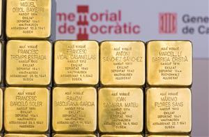 El Memorial Democràtic instal·larà un centenar de peces Stolpersteine a diferents municipis de Catalunya