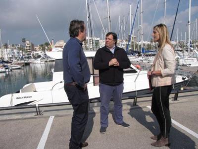 El port de Vilanova, pioner a Catalunya en fer una prova pilot amb sensors en les embarcacions del Club Nàutic. Ajuntament de Vilanova