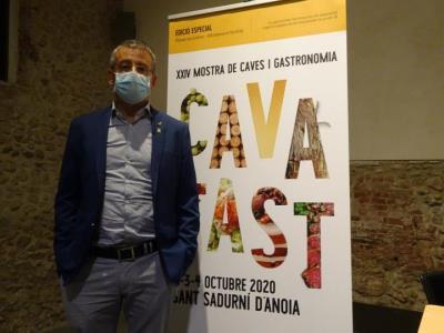 El regidor de Promoció Turística de Sant Sadurní d'Anoia destaca que el nou format a les caves donarà un valor afegit al Cavatast. Ramon Filella