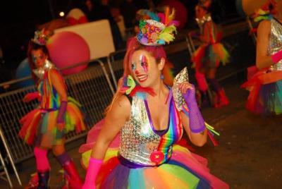 """El Vendrell ha gaudit d'un multitudinari """"Carnaval de Capital!"""". Rosana Ross"""