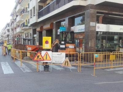 En marxa la segona fase de renovació de la xarxa d'aigua potable de la zona Coroleu, a Vilanova. Ajuntament de Vilanova