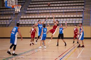 InterSport Olaria Club Bàsquet Samà Vilanova-SMA - CN Caldes