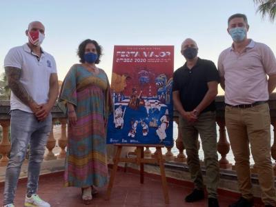 La Comissió presenta el cartell i el programa de la Festa Major de Sitges 2020. Ajuntament de Sitges