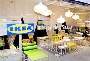 La responsable de la nova botiga d'Ikea a Sant Pere de Ribes, Marina Dubakina