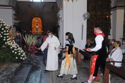 Les Pubilles i els Hereus de Sitges protagonitzen un emotiu Ofici de Santa Tecla. Ajuntament de Sitges