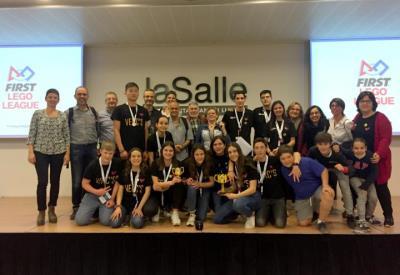 L'escola Vedruna de Sant Sadurní es classifica per tercer any per a la final estatal First Lego League de robòtica. Ajt Sant Sadurní d'Anoia
