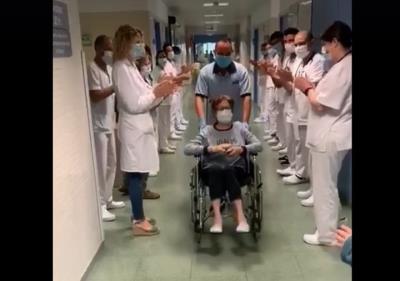 L'Hospital del Vendrell dona d'alta l'última pacient amb covid-19. EIX