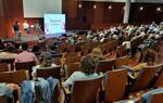 Pere Aragonès durant la presentació a Vilanova del llibre 'Tornarem a vèncer' del president d'ERC, Oriol Junqueras