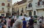 Un centenar de persones es concentren a Vilafranca per reivindicar el dret a l'empadronament