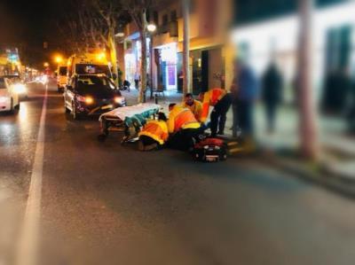 Un nen de 8 anys, clau en la detenció de l'autor d'un atropellament a Vilanova. Policia local de Vilanova