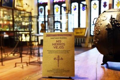 Una edició facsímil aporta projecció al col·leccionisme de ferro forjat de Rusiñol. Museus de Sitges