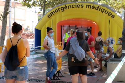 Vilafranca del Penedès també faran cribratges massius amb PCR. ACN
