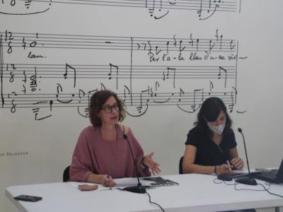 Vilanova presenta la nova Escena, que recupera els espectacles cancel·lats i renova el sistema de venda d'entrades. Ajuntament de Vilanova