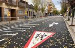Vilanova senyalitza nous trams de carrils bici a la rambla Samà i el carrer d'Anselm Clavé