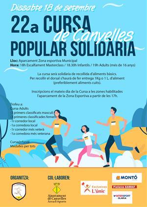 22a Cursa Popular Solidària de Canyelles