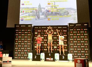 Alessia Bertolino, pòdium en l'Ironman de Vitòria-Gasteiz