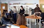 Alumnes dels instituts Montgròs i Xaloc difonen la tasca de les entitats de cooperació