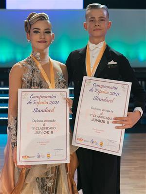 Andrey Tkachenko i Sara Paredes