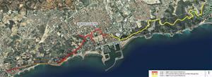 Avancen les obres del Camí Pedalable de la costa del Garraf