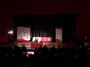 El Centre Cívic s'omple per la presentació del llibre del centenari del Club de Futbol La Granada