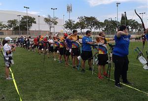 El Club Tir amb Arc Arquers del Montmell al torneig