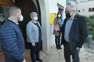 El conseller d'Educació anuncia que en el curs 2022-23 s'iniciaran les obres de l'Institut-Escola d'Olivella