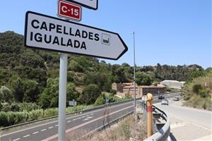 El Govern aprova la implantació d'un tercer carril a la C-15 entre Vilafranca i Capellades