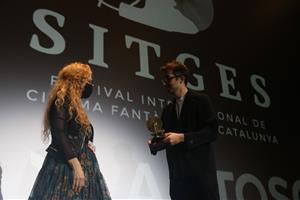 El guionista Nick Antosca ha recollit aquest dimecres el Premi Màquina del Temps del Festival de cinema de Sitges