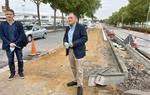 El nou carril bici que connecta els polígons de Vilafranca ha d'estar finalitzat al novembre