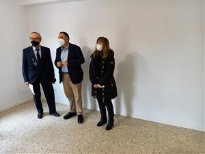El Programa de Rehabilitació d'Habitatges de Vilafranca rehabilita un pis al carrer Bisbe Panyelles amb finalitat social