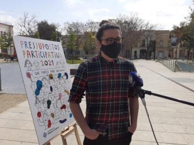 El regidor de Participació Ciutadana de Vilanova, Enric Garriga. Ajuntament de Vilanova