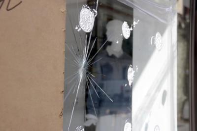 Els comerciants de Vilanova demanen que s'aturin els disturbis. ACN