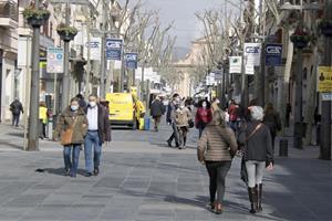 Els comerciants de Vilanova demanen que s'aturin els disturbis