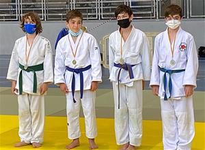 Els judoques del Club Judo Vilafranca-Vilanova al Campionat de la Copa Catalunya