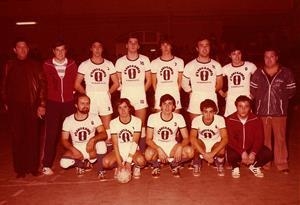 Equip sènior del Club Handbol Vilanova, temporada 1980-81