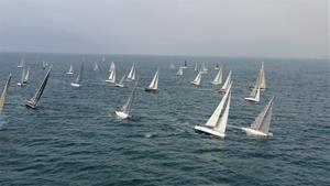 Espectacular 41 edició de la Regata Columbretes des del Club Nàutic de Vilanova