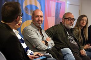 Jaume Balagueró i Álex de la Iglesia, i l'actriu Ester Expósito han presentat el segell The Fear Collection i el film 'Venus', al Festival de cinema d