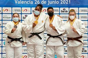 Judit Casañas subcampiona d'Espanya junior