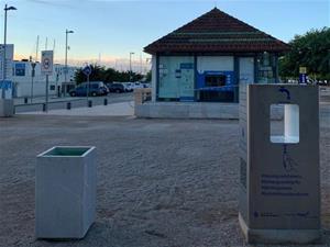La Companyia d'Aigües de Vilanova instal·la dues fonts d'aigua refrigerada a la via pública